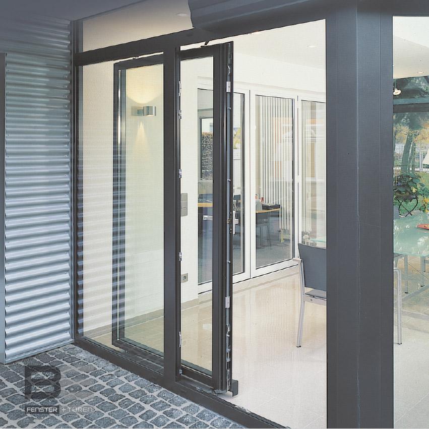 Be fenster schiebeanlage aluminium pask c rechel for Fenster aluminium
